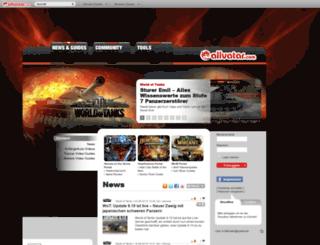 wot.allvatar.com screenshot