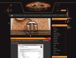 wotportal.cz screenshot