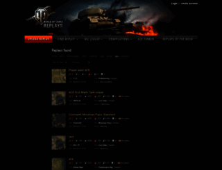 wotreplays.eu screenshot