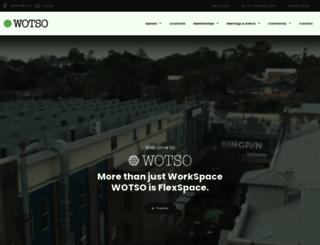 wotsoworkspace.com.au screenshot