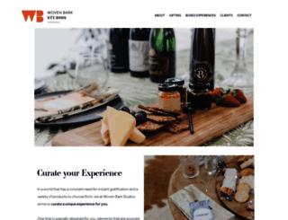 wovenbarkstudios.co.za screenshot