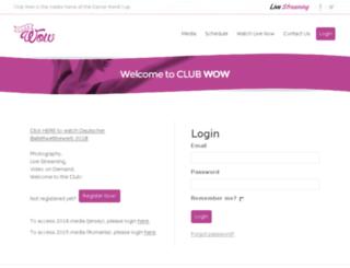 wow.dwcworld.com screenshot