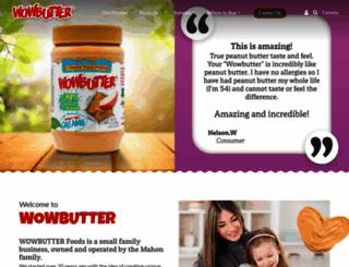 wowbutter.com screenshot