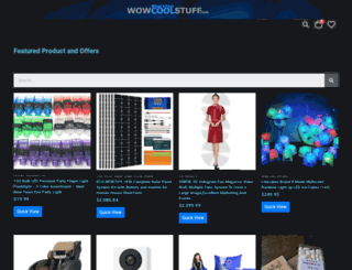 wowcoolstuff.com screenshot