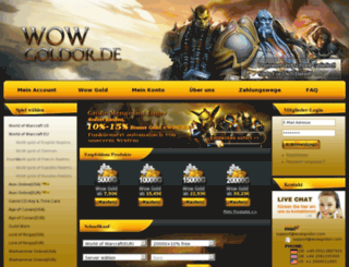 wowgoldor.de screenshot
