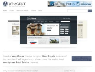 wp-agent.com screenshot