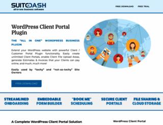 wp-client.com screenshot