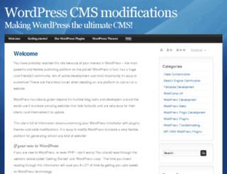 wp-cms.com screenshot