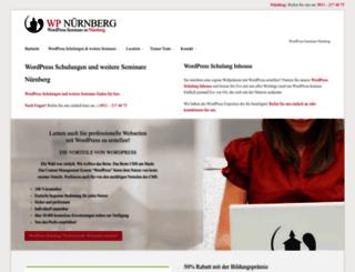 wp-nuernberg.de screenshot
