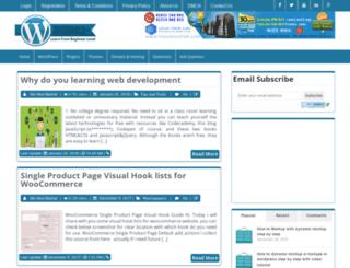 wp-tutorials.com screenshot