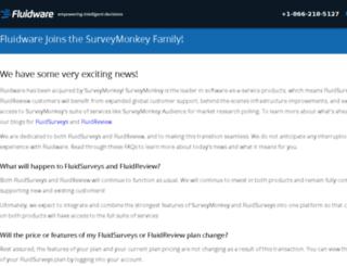 wp.fluidware.com screenshot