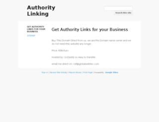 wpauthoritylinks.com screenshot