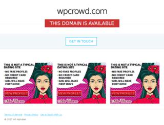 wpcrowd.com screenshot