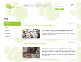 wpcrux.com screenshot
