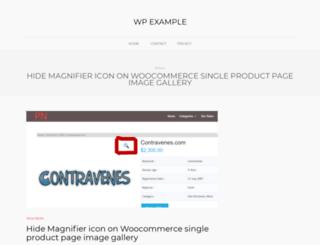 wpexample.com screenshot