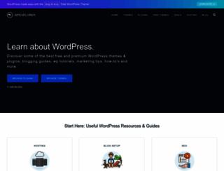wpexplorer.com screenshot