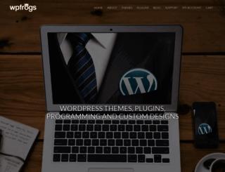 wpfrogs.com screenshot