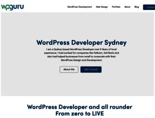wpguru.com.au screenshot