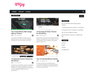 wpguy.com screenshot