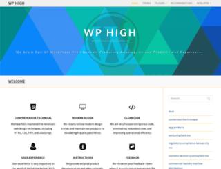 wphigh.com screenshot