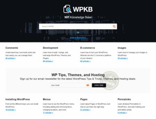 wpkb.com screenshot