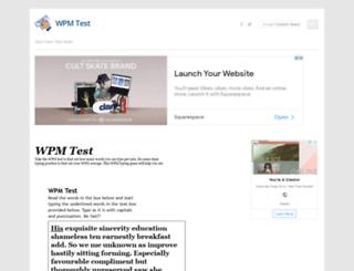 wpmtest.net screenshot