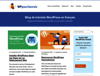wppourlesnuls.com screenshot