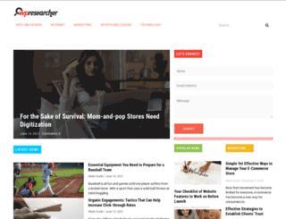 wpresearcher.com screenshot