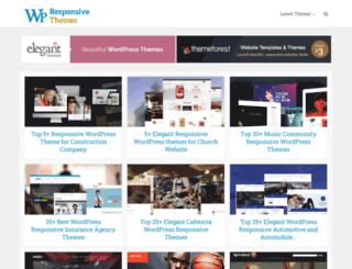 wpresponsivethemes.com screenshot