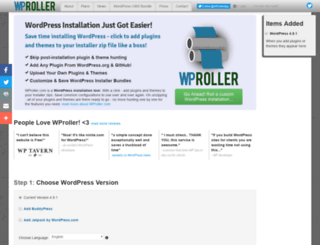 wproller.com screenshot