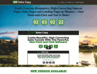 wpsalescopy.com screenshot