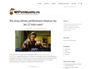 wpsamurai.pl screenshot