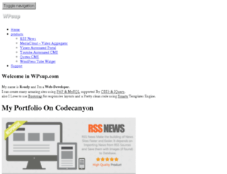 wpsup.com screenshot
