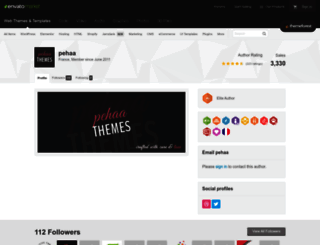 wptemplates.pehaa.com screenshot