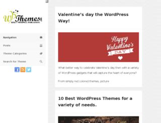 wpthemes.org screenshot