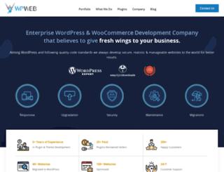 wpweb.co.in screenshot