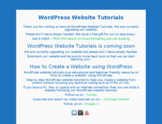 wpwebsitetutorials.com screenshot