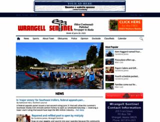 wrangellsentinel.com screenshot