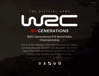 wrcthegame.com screenshot