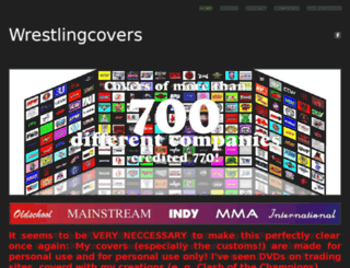 wrestlingcovers.weebly.com screenshot