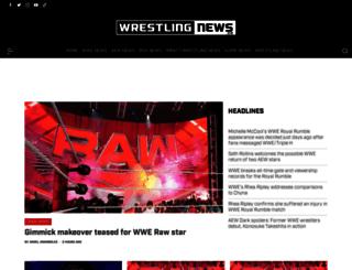 wrestlingnews.co screenshot