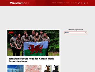 wrexham.com screenshot