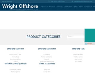 wright-offshore.com screenshot