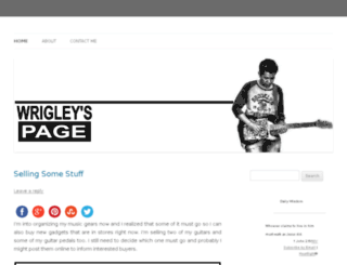 wrigley186.com screenshot