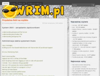 wrim.pl screenshot