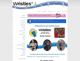 wristies.com screenshot