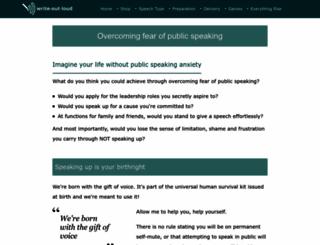 write-out-loud.com screenshot
