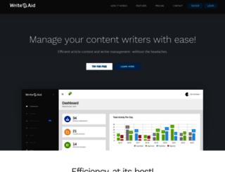 writeaid.net screenshot
