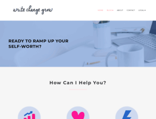 writechangegrow.com screenshot