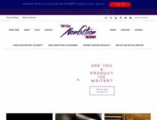 writenonfictionnow.com screenshot